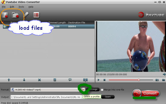 H.264 Video Converter