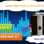 Convert MKV FLAC to AC3/AAC 5.1 Audio: Watching on HDX-1000 Network Media Player