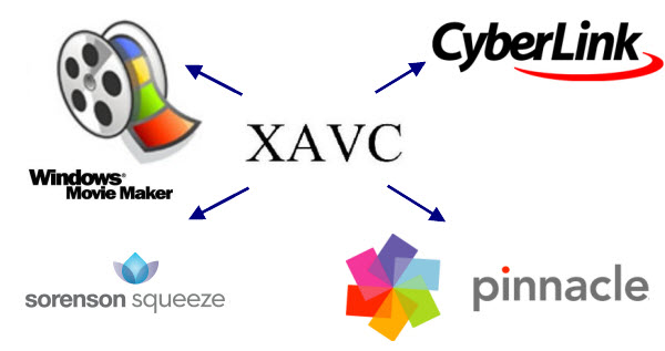 Slove 2k/4k XAVC to Pinnacle/Vegas Pro/Windows Movie Maker import issues Edit-xavc-on-windows
