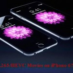 HEVC Encoder/Decoder for iPhone 6 – Watch H.265 Videos on iPhone 6