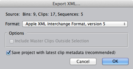 export-from-fcp