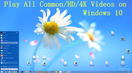 Play All Common/HD/4K Videos on Windows 10 Nicely | Video Pedia