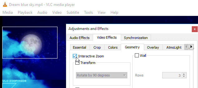 Is There a Way to Zoom Video in VLC Media Player?-Media