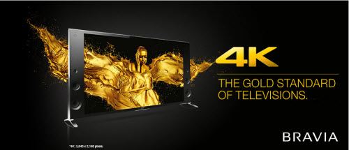 Play 4K video on Sony Bravia 4K TV
