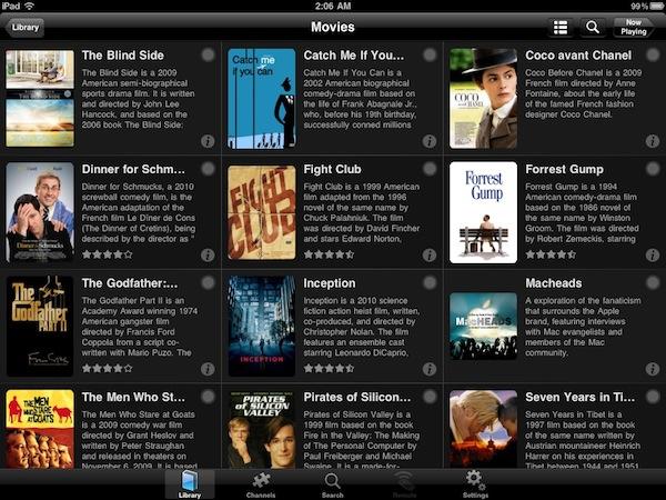Plex app for iPad