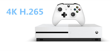 Play 4K H.265 videos on Xbox One S without any problems