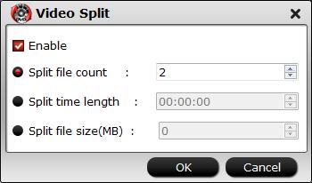 Split MP4 video